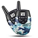 Outdoor Toys for Kids Walkie Talkies For Kids, Outdoor Toys For Boys Girls, Rechargeable Kid Walkie Talkie Long Range, Children Birthday Gifts, Camo (Pair)