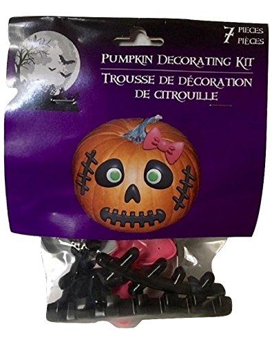 [Skull Girl Pumpkin Decorating Kits Halloween USA Seller] (Castle Boutique Halloween Costumes)