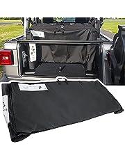 Soft Top Window Storage Bag for 2018-2021 Jeep Wrangler JL JLU Unlimited Sports Sahara Freedom Rubicon 2-Door & 4-Door 68358392AC Black