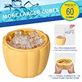 Ice Cube Maker New & Improved - DINOKA 60 Cubes