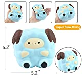 Aolige Jumbo Squishies Kawaii Blue Lamb Cream Scented Slow Rising Decompression Squeeze Toys Children Simulation Cute Sheep Toys