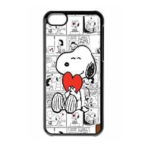 The fanciful Snoopy. Joe cool Snoopy Hard Plastic phone Case Cove For Iphone 5c JWH9152977