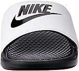 Nike Men's Benassi Just Do It Athletic Sandal, White, 11 D(M) US