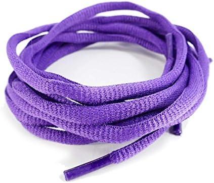 靴ひも(靴紐) シューレース 丸紐 紫パープル ETSR-613【105cm,SHOELACE,くつひも】