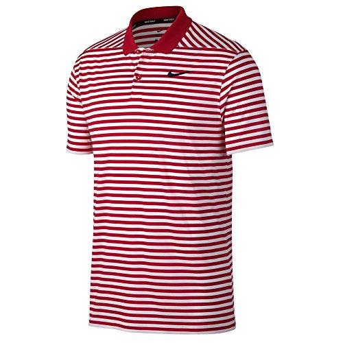 657 Nk Herren M Nike Dry Rot Rojo Poloshirt LC Vctry Stripe TPqvWa
