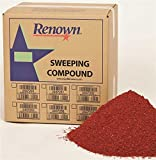 Renown REN04002 Sweeping Compound Oil Base, with Grit, 25 lb. Box, Red