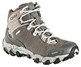Oboz Bridger Mid B-Dry Hiking Boots - Women's Cool Gray 8