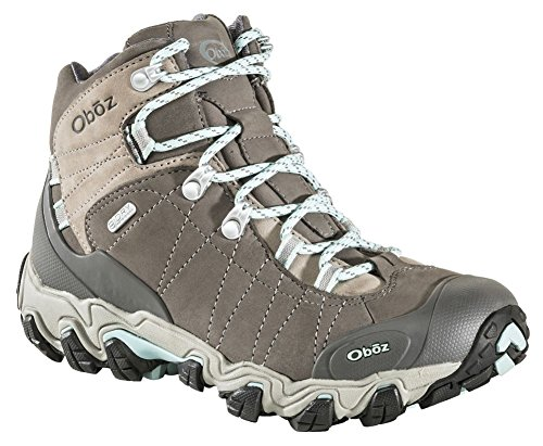 Oboz Bridger Mid B-Dry Hiking Boots - Women's Cool Gray 10 by Oboz