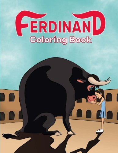 Ferdinand Coloring Book: Great Coloring Book for Kids