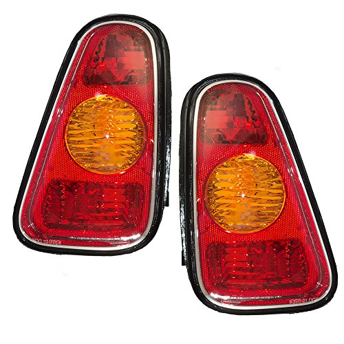 Driver and Passenger Taillights Tail Lamps Replacement for MINI 63216935783 63216935784 AutoAndArt (Cooper Tail Lamp Light)