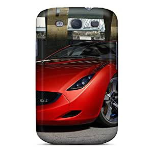 First-class Case Cover For Galaxy S3 Dual Protection Cover Mazda Rx Z