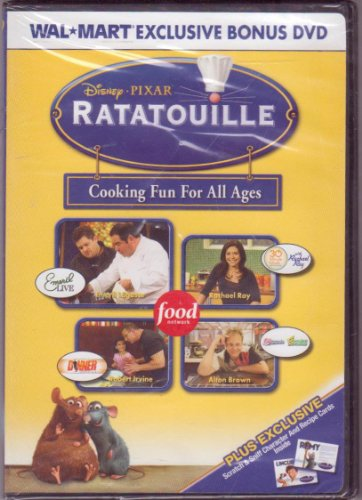 Ratatouille, Cooking Fun for All - Movie Dvd Ratatouille