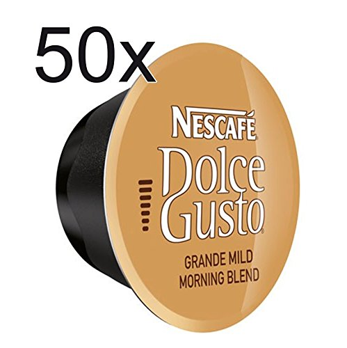 50 X Nescafé Dolce Gusto Grande Mild, Coffee Capsule, 50 Capsules