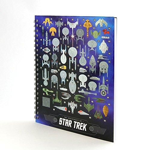 Star Trek Spacecraft (Star Trek The Spacecraft of Star Trek Notebook)