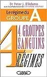 4 groupes sanguins 4 régimes : Le régime du groupe A par D'Adamo