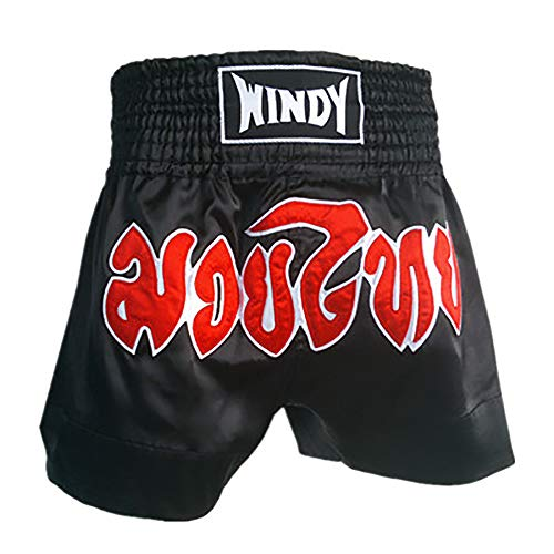 TOPTIE Kickboxing Muay Thai MMA Training Shorts, Boxing Trunks