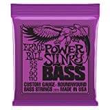 Ernie Ball Power Slinky Nickel Wound Bass Set, .055 - .110