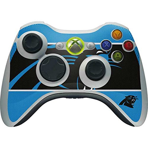- Skinit NFL Carolina Panthers Xbox 360 Wireless Controller Skin - Carolina Panthers Zone Block Design - Ultra Thin, Lightweight Vinyl Decal Protection