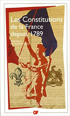 Livre gratuits en ligne Les Constitutions de la France depuis 1789 pdf