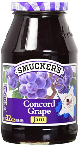 Smucker's Concord Grape Jam, 32 oz