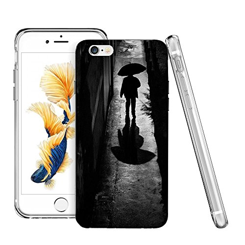 Thwo M84014_A Rainy Night Walk Wallpaper phone case for iphone 6/6s plus