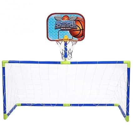 LYH Canasta Baloncesto Infantil Niños Baloncesto Interior Al Aire ...