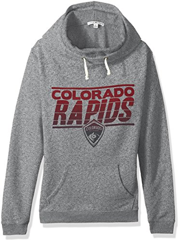 fan products of MLS Colorado Rapids Women's Major League Soccer Cowl Pullover, XX-Large, Heather