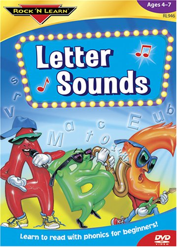 Letter Sounds: Phonics for Beginners [DVD] -  Rock N Learn