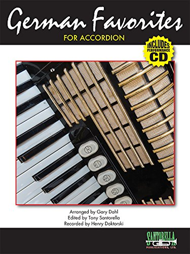 (German Favorites For Accordion with CD - Revised (German Edition))