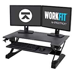 Convert your existing desk to a more comfortable, more productive sit-stand desk with the WorkFit-TL from Ergotron. WORKFIT-TL IS EASY TO INSTALL. Slide it right out of the box and you're ready to work – no assembly required. With a footprint...