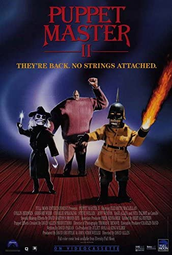 """27x40/"""" Theater Size Licensed-NEW-USA PUPPET MASTER Movie Poster"""