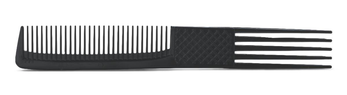 Medline MDS1372067 Latex Free Adult Hair Pick/Comb Combos, 8'', Black (Pack of 432)