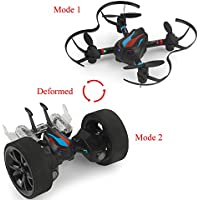 MOBU Special Remote Control Drones Quadcopter DIY Deformable Stunt Car Toys For Kids