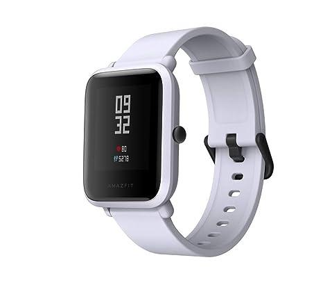 Xiaomi Amazfit Bip White - Smartwatch, Reloj Inteligente, GPS, Pulsómetro, Monitor de actividad, Ejercicio Fitness - (Reacondicionado Certificado)
