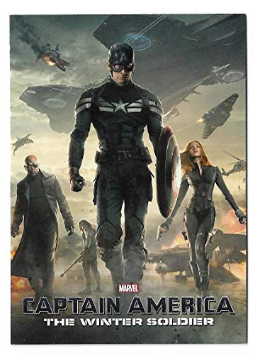 2014 Upper Deck Captain America The Winter Soldier Trading Cards Movie Poster 3 Card Set MP-1 - MP-3