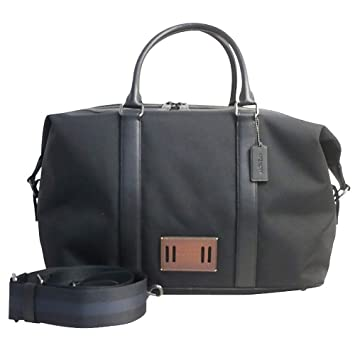 where to buy coach signature leather voyager duffle travel bag charcoal  black 12008 3e3e9  italy coach f27610 voyager bag in cordura black f5cdc  8edbe 6fc5b070f92a3