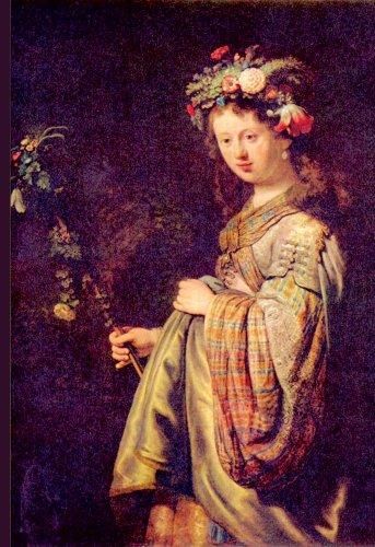 5102 Van - ArtsyCanvas Flora (portrait of Saskia as Flora) 13