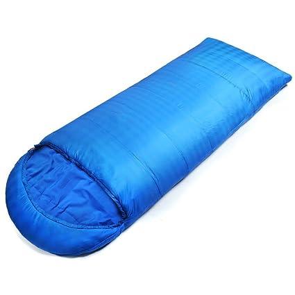 LJHA shuidai Saco de dormir del sobre / Splicable / Waterproof / Camping Hiking Saco de dormir rectangular al aire libre del algodón con el bolso de ...