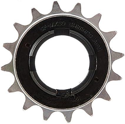 "N/&T 18T 34mm 1//2/"" x 1//8/"" Silver BMX Freewheel Bicycle Single Speed Cog Sprocket"