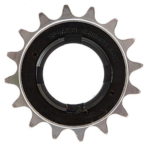Shimano DX BMX Single Speed Freewheel - Silver, 16 (Shimano Single Speed Freewheel)
