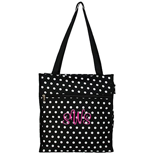 Personalized Nurse | Medical | Physician Carry All Tote Bags (Polka Dot)