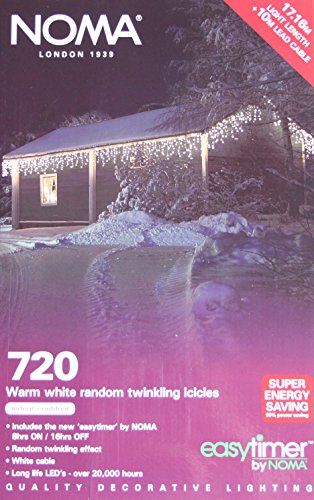 720 White Led Icicle Lights in US - 3