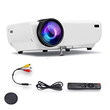 Mini Proyector, Video Proyector 4500 LÚMenes Soporta Full HD 1080P ...