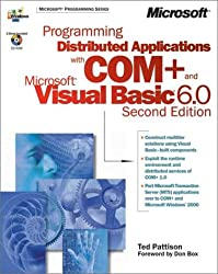 Programming Distributed Applications with COM+ and Visual Basic 6 (Book & CD)