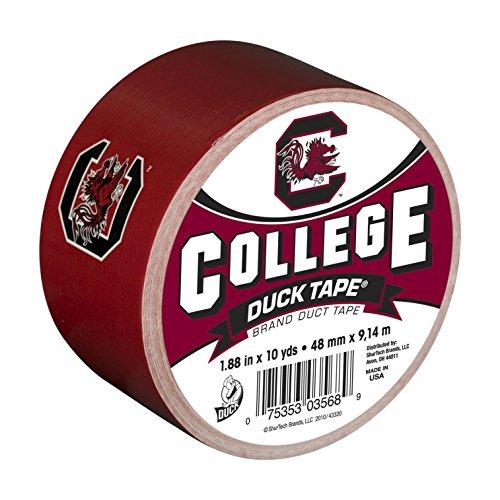 University South Carolina Gamecock Logo (Duck Brand 240276 University of South Carolina College Logo Duct Tape, 1.88-Inch by 10 Yards, Single Roll)