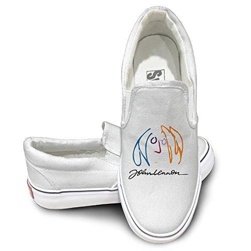 John Costumes White Suit Lennon (HYRONE John Imagine Lennon Cool Sport Shoes Baseball)