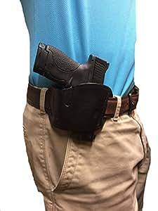 Leather Belt Slide Holster fits Ruger SR22