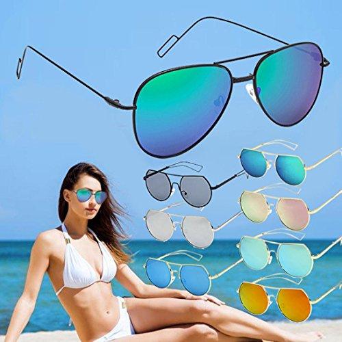 Color Gafas Manejo Reflexión Anti Sol b Noche Casual Moda de Anti Unisexo Gafas Venta WINWINTOM Caliente Protección Mujer Visión de de Gafas Verano Playa 2018 Gafas UV Auto wqFECga