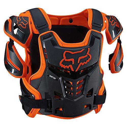 (Fox Racing Adult Raptor Vest-Orange-L/XL)