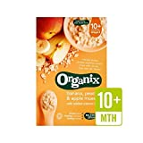 Organix Cereals Apple, Peach & Banana Muesli - Stage 3 200g - Pack of 2